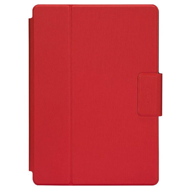 Targus SafeFit 9-10.5 Inch Rotating Case Red, , hi-res