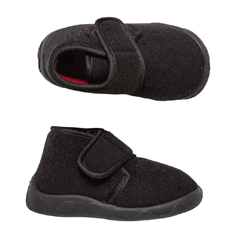Young Original Teddy Slippers, Black, hi-res image number null
