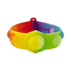 Fidget Push Pop Bracelet Rainbow