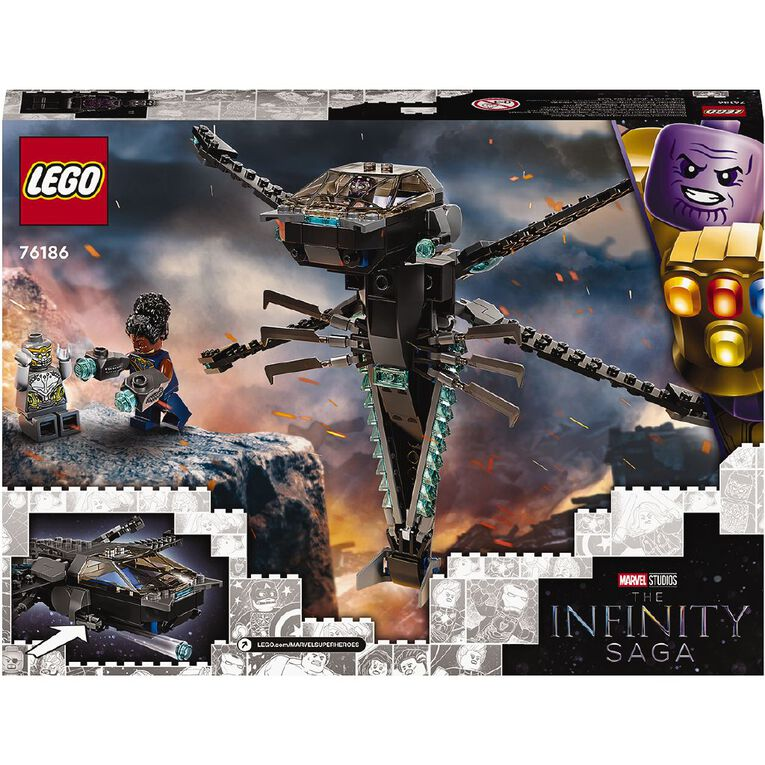 LEGO Super Heroes Black Panther Dragon Flyer 76186, , hi-res