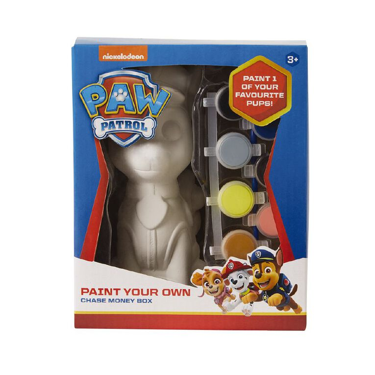 Paw Patrol Paint Your Own Chase Ceramic, , hi-res image number null
