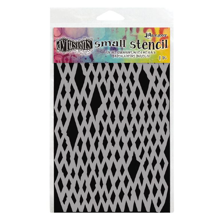Ranger Dylusions Stencil Diamond in the Rough Small, , hi-res