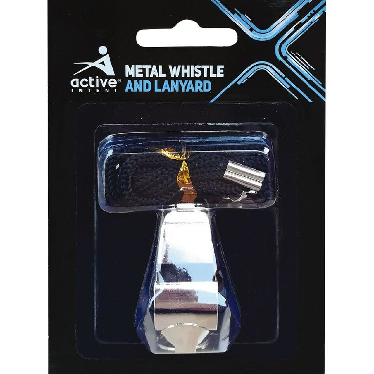 Active Intent Sports Metal Whistle & Lanyard, , hi-res