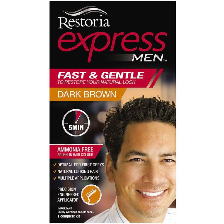 Restoria Express Men Dark Brown, , hi-res