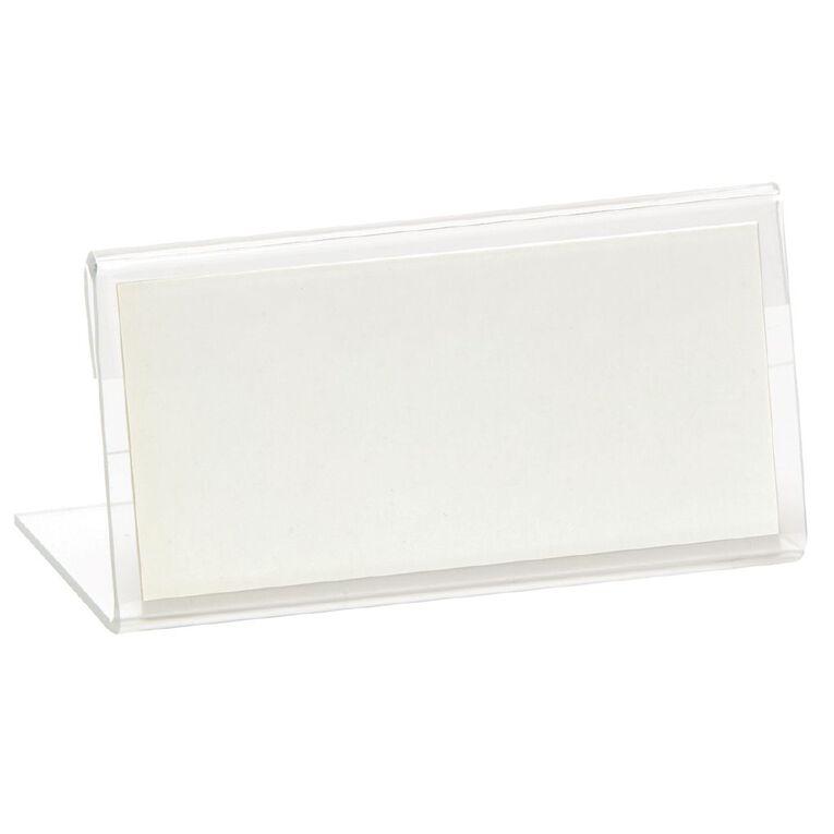 Deflecto Sign Holder Mini Clear, , hi-res