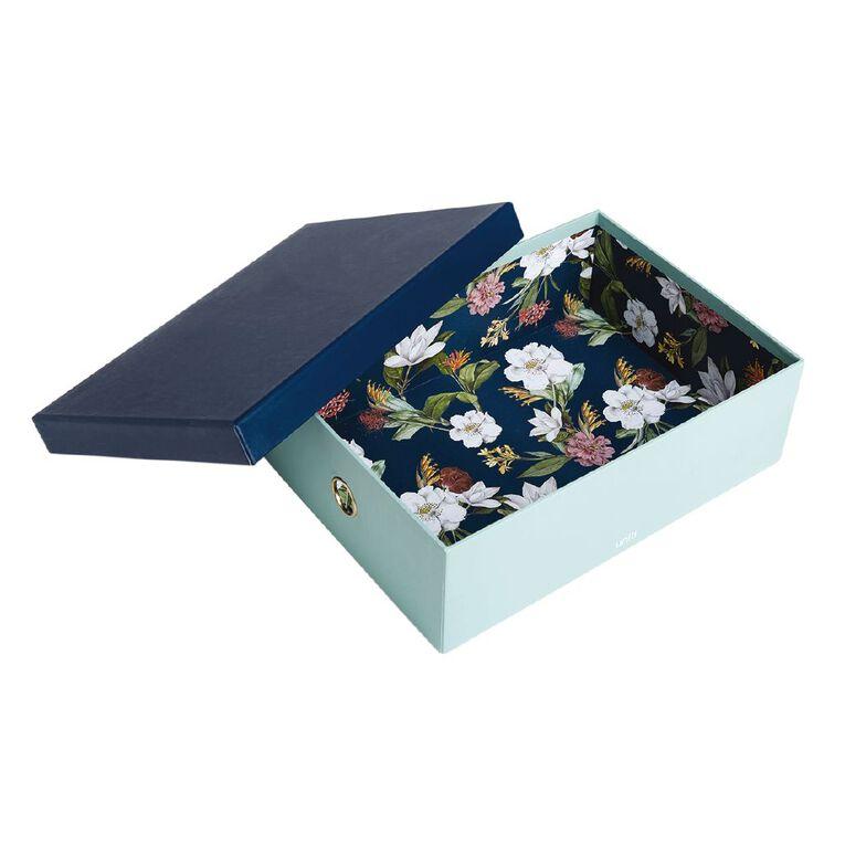 Uniti Kiwi Breeze Storage Box Green A4, , hi-res