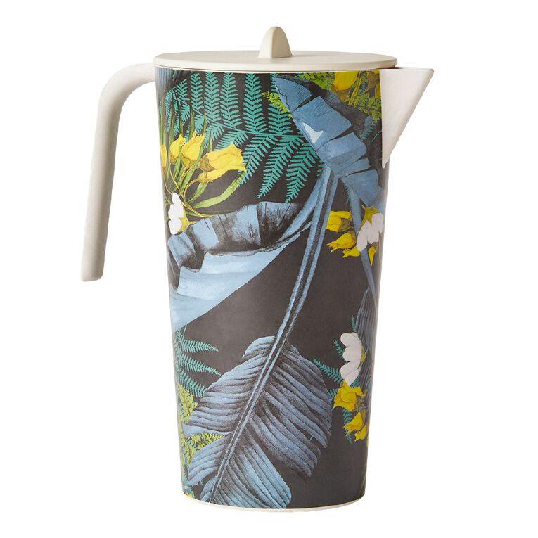 Living & Co Kiko Bamboo Water Jug Printed, , hi-res