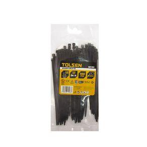 Tolsen Cable Tie 150mm x 4mm 100 Pack Black