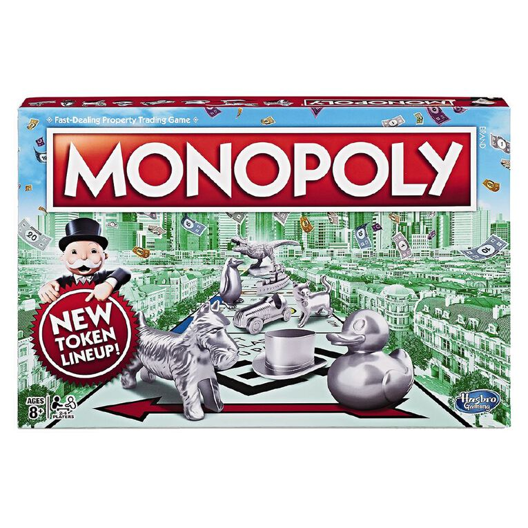 Monopoly Classic Board Game, , hi-res
