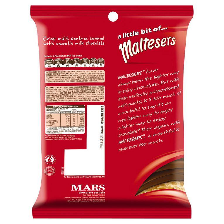 Maltesers Chocolate Medium Party Share Bag 144g 12 Pack, , hi-res