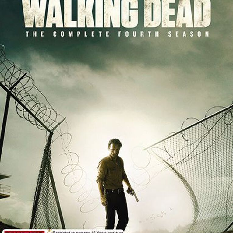 The Walking Dead Season 4 DVD 5Disc, , hi-res