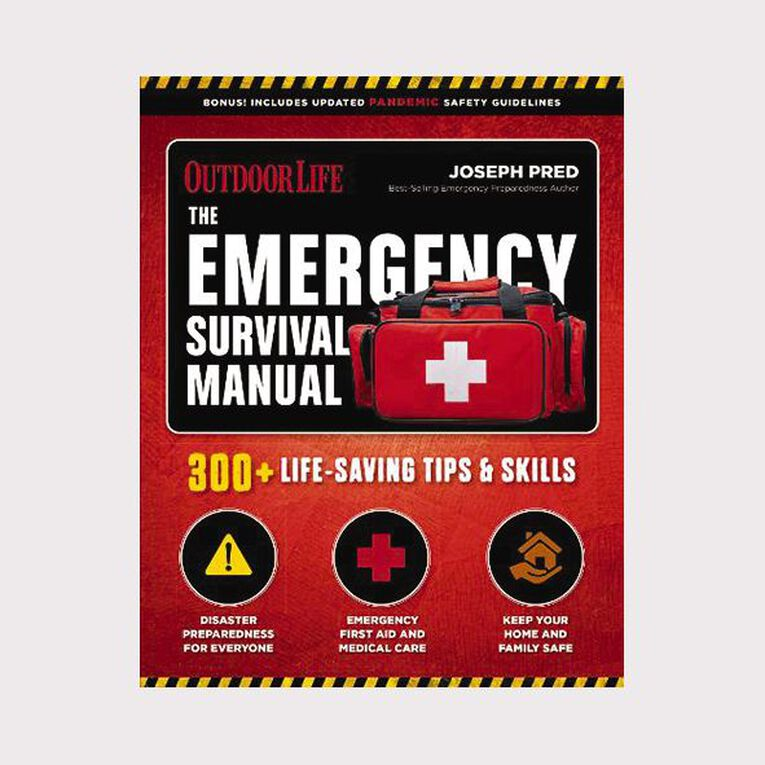 The Emergency Survival Manual by Joseph Pred, , hi-res image number null