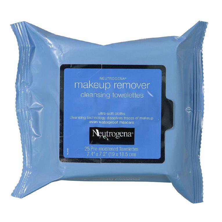 Neutrogena Make-Up Cleansing Towelettes 25 Pack, , hi-res