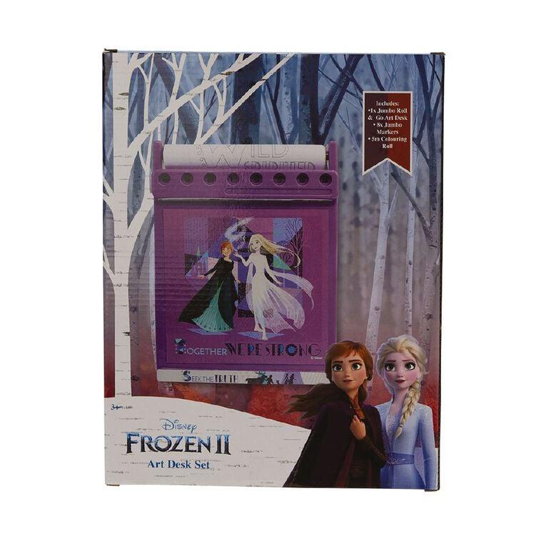Frozen Jumbo Roll & Go Art Desk Set, , hi-res