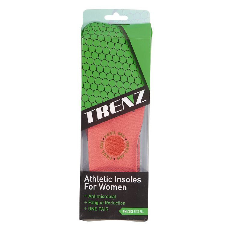 Trenz Athletic Insole Women's, Assorted, hi-res