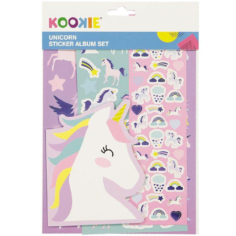 Kookie Sticker Album Pack Unicorn, , hi-res
