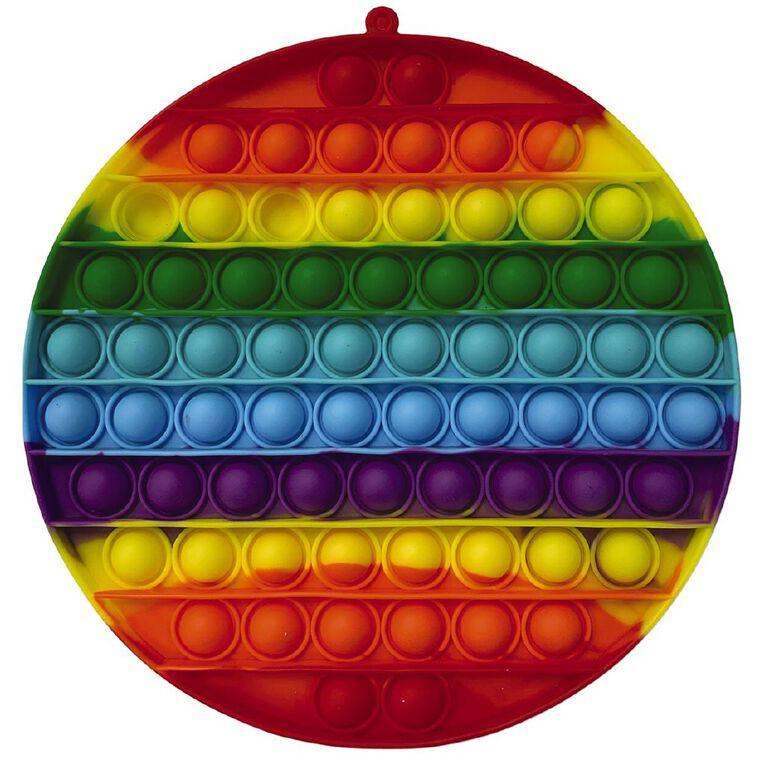 Fidget Pop-it Mega Rainbow Circle, , hi-res