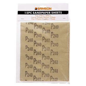 Mako Sand Paper Set 15 Piece