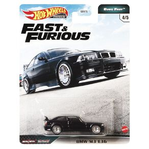 Hot Wheels Fast & Furious Fast & The Furious Premium Single Assorted