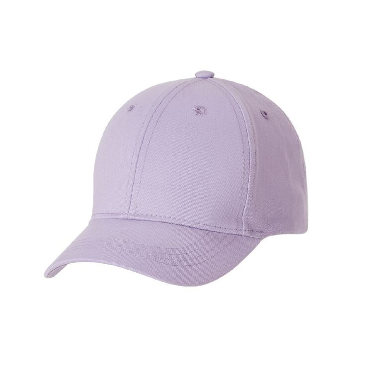 Young Original Kids' Twill Peak Cap, Purple, hi-res
