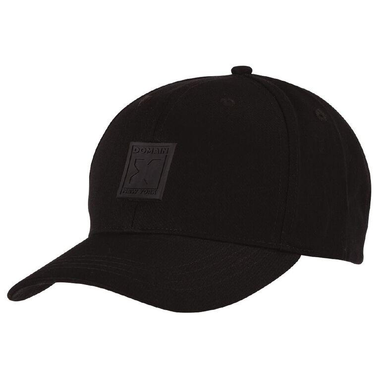 H&H Men's X Domain Cap, Black, hi-res