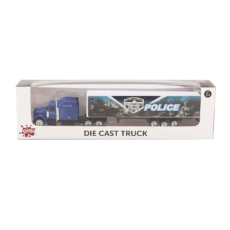 Play Studio Die-Cast Freewheel Truck Assorted, , hi-res