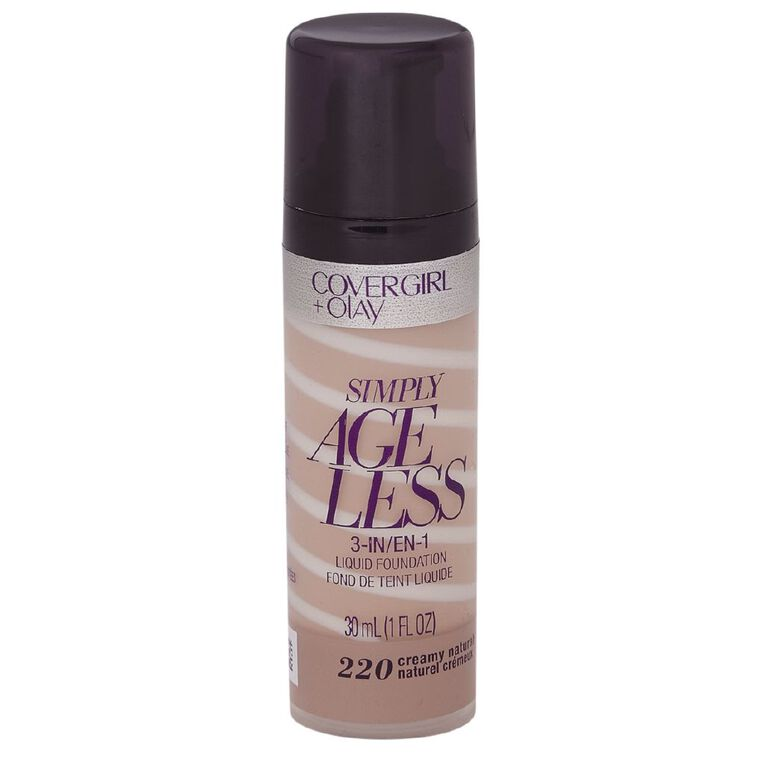 Covergirl +Olay Simply Ageless 3-in-1 Foundation Creamy Natural 220, , hi-res