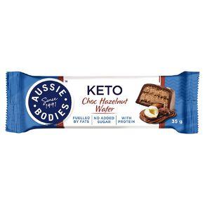 Aussie Bodies Aussie Bodies Keto Chocolate Hazelnut Wafer 35g