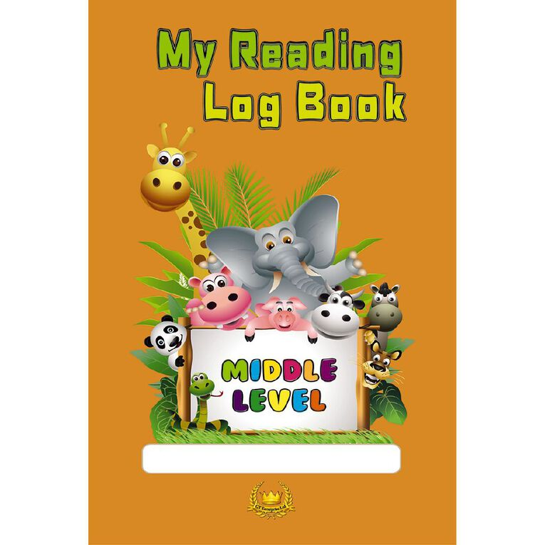 GT My Reading Log Book Orange, , hi-res