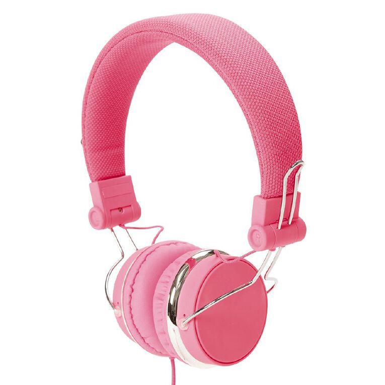 Tech.Inc Verve Headphones Neon Pink, , hi-res