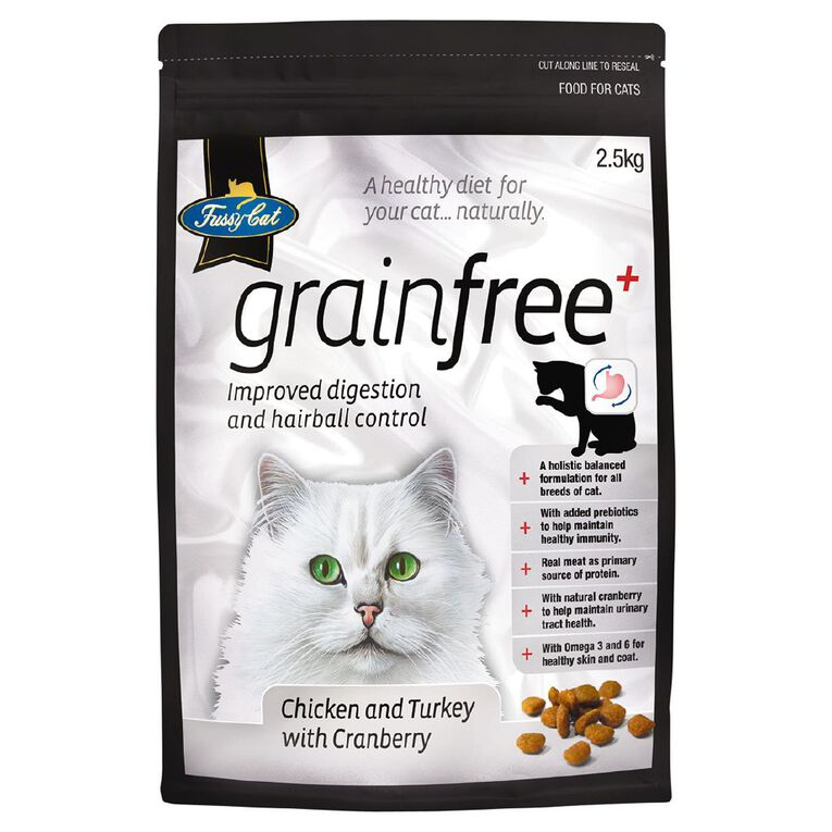Fussy Cat Grain-Free Chicken & Turkey with Cranberry 2.5kg, , hi-res