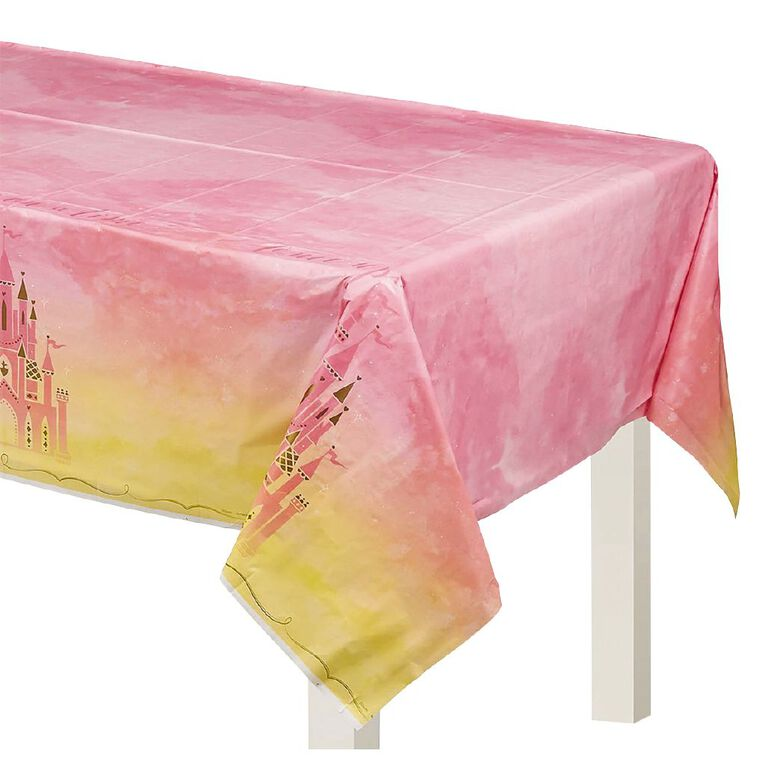 Disney Princess Once Upon A Time Paper Tablecover, , hi-res