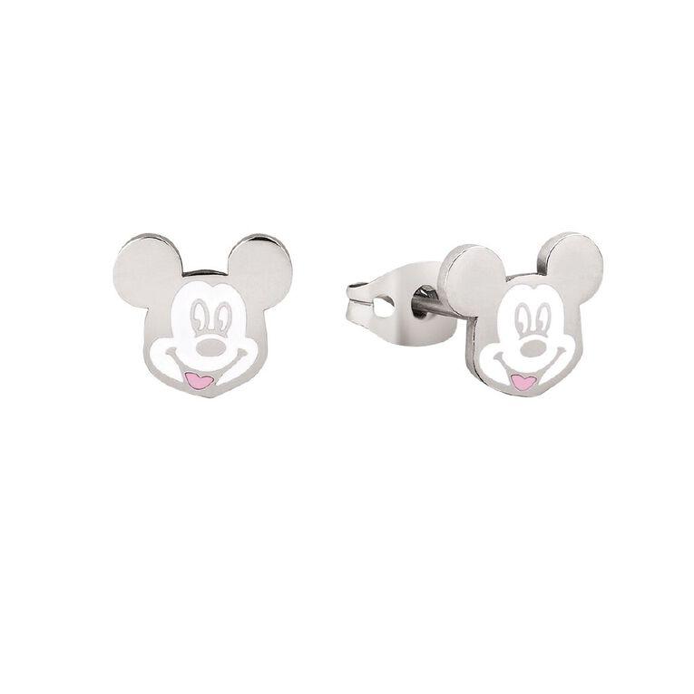 Disney Mickey Mouse Stud Earrings, , hi-res
