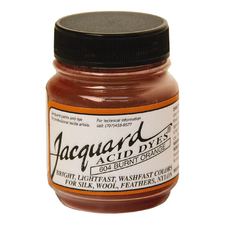 Jacquard Acid Dye 14.17g Burnt Orange, , hi-res