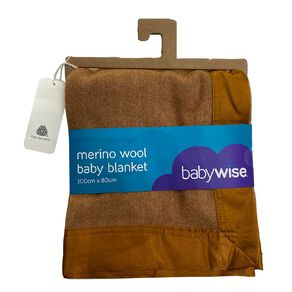 Babywise Merino Wool Baby Blanket