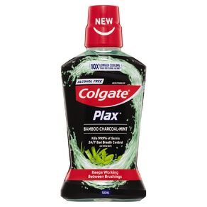Colgate Plax Mouthwash Bamboo Charcoal 500ml