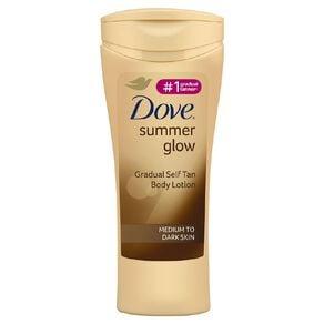 Dove Summer Glow Body Lotion Medium To Dark
