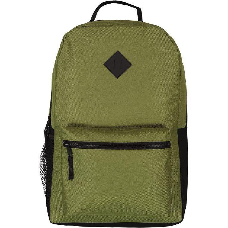 H&H Senior Plain Backpack, Khaki, hi-res