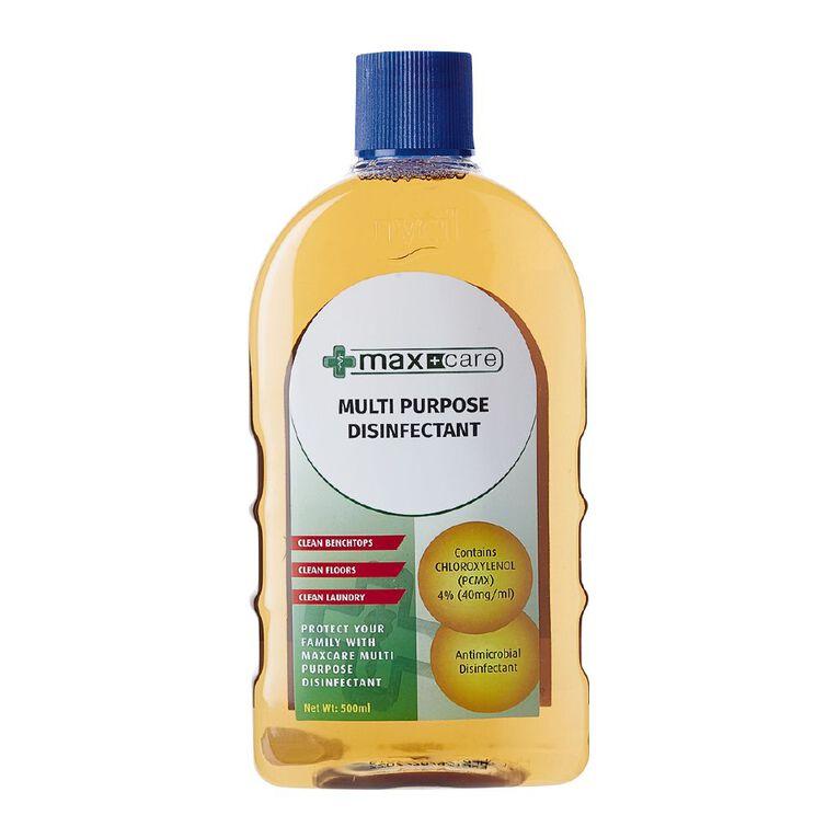 Maxcare Disinfectant Liquid 500ml, , hi-res