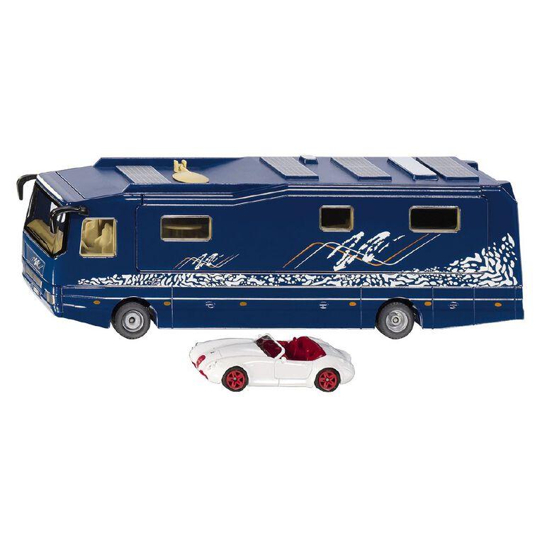 Siku 1:50 Volkner Mobil Bus with Roadster, , hi-res