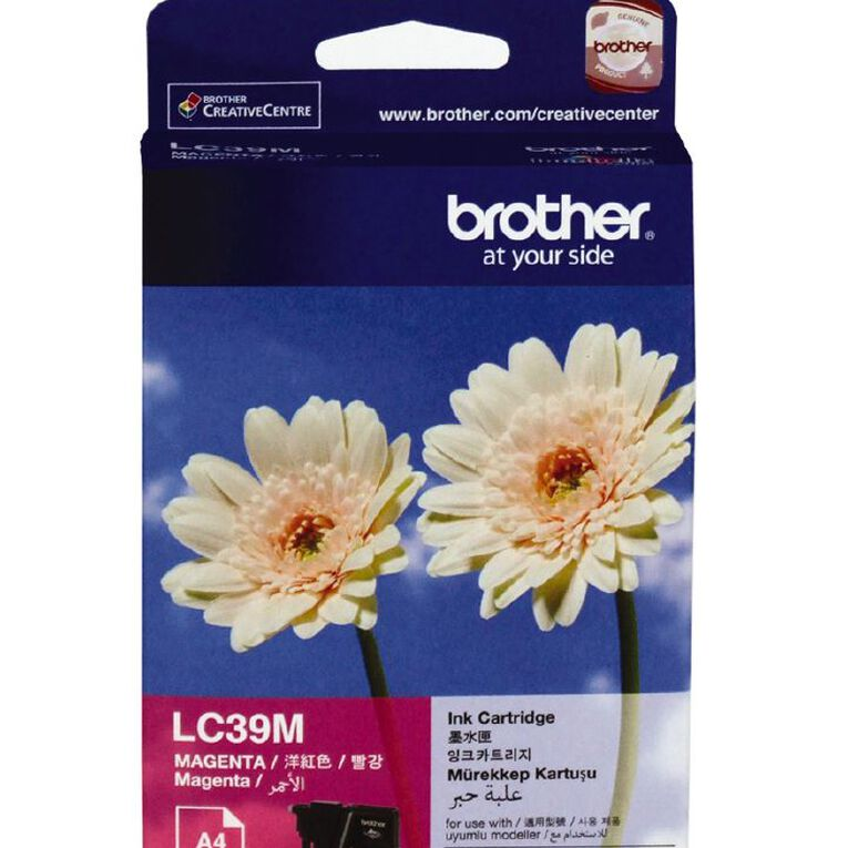 Brother Ink LC39 Magenta (260 Pages), , hi-res