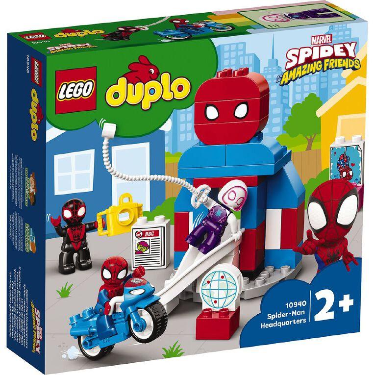 LEGO DUPLO Spider-Man Headquarters 10940, , hi-res