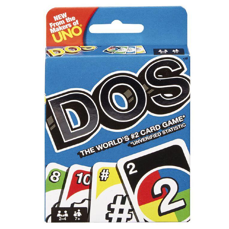 UNO DOS Card Game, , hi-res