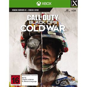 Xbox Series X Call of Duty Black Ops: Cold War