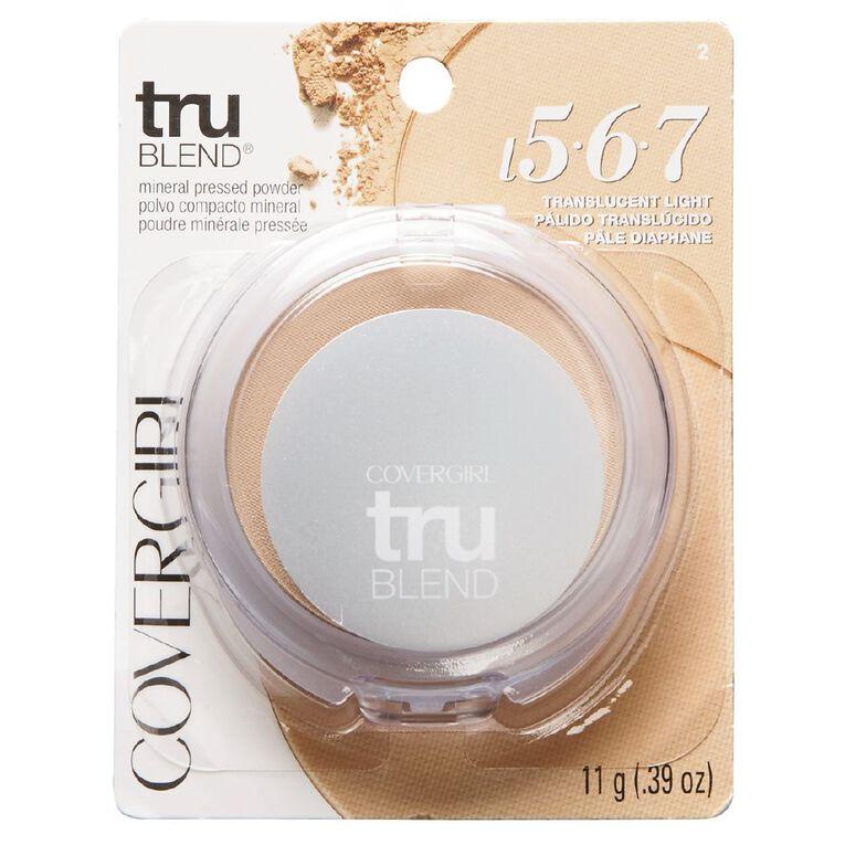 Covergirl Trublend Pressed Powder 2 (Light) 11g, , hi-res