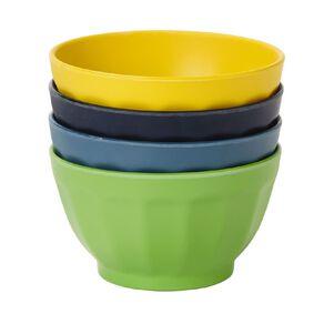 Living & Co Latte Shape Bamboo Bowl 4 Pack