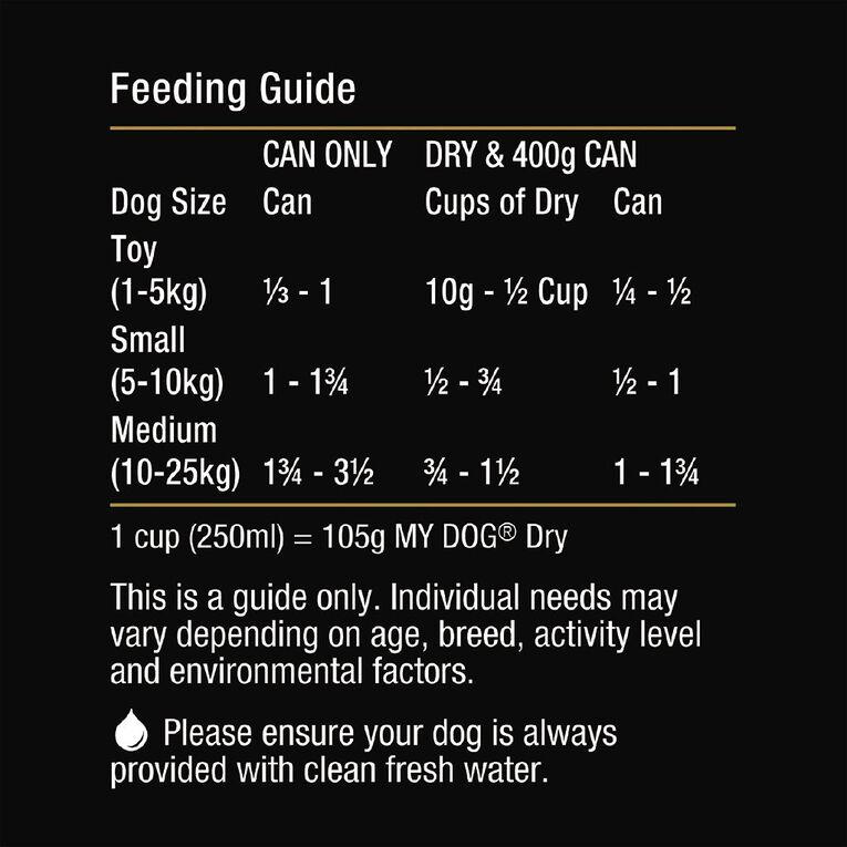 My Dog Wet Dog Food Chicken & Turkey Banquet 400g Can, , hi-res