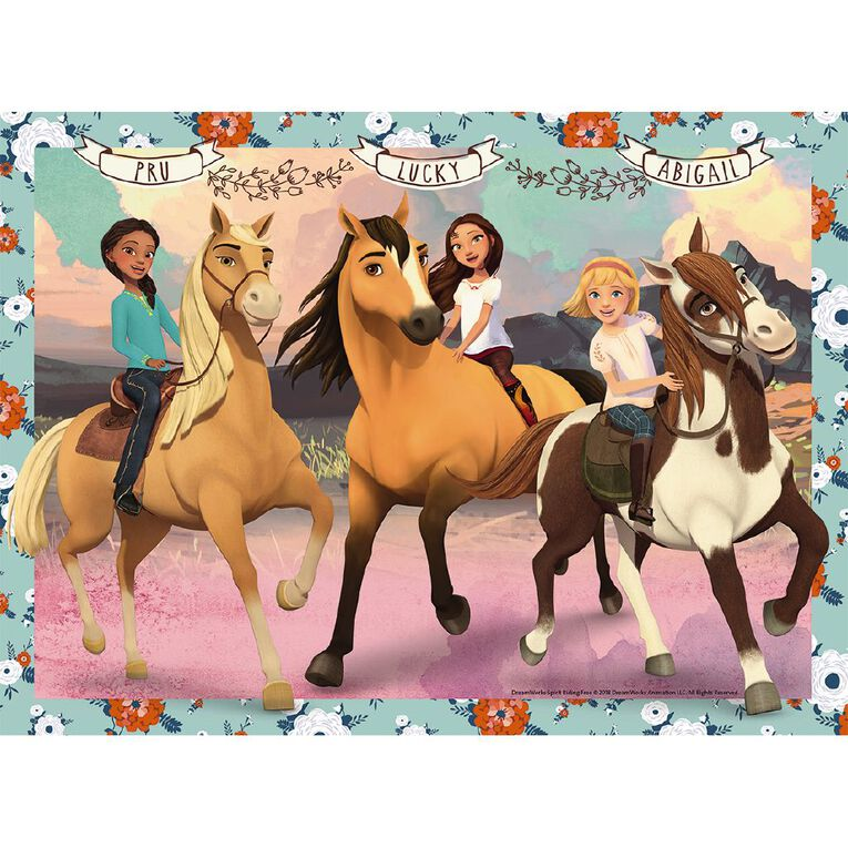 Ravensburger Spirit Lucky and her Friends 100 Piece Puzzle, , hi-res image number null