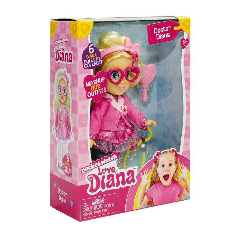 Love Diana Mini Doll 6 Inch Assorted, , hi-res