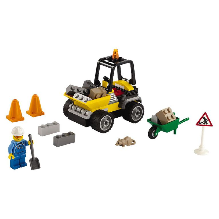 LEGO City Roadwork Truck 60284, , hi-res